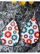 Sunflower Water Drop Earrings