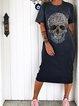 Leopard Print Skull Dresses