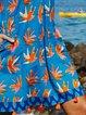 Women Summer Mini Dress Plus Size Short Sleeve Dresses