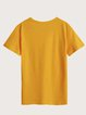 Yellow Cotton Shirts & Tops