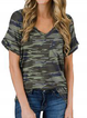V Neck Holiday Shirts & Tops