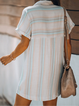 As Picture Shawl Collar Short Sleeve Dresses