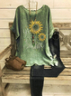 Floral Casual Printed Shirts & Tops