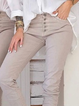 Plus size Casual Solid Pants