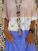 Multicolor Casual Striped Printed Dresses