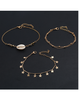 As Picture Alloy Anklets