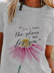Plus size Floral Casual Shirts & Tops