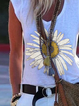 Floral Holiday  V Neck Shirts & Tops