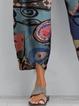 Printed  Holiday Pants