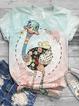 Multicolor Casual Cotton Shirts & Tops