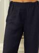 Black Casual Plain Pants