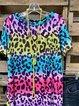O-Neck Short Sleeve Cotton Shirts & Tops