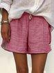 Women's Elastic Waist Summer Pants Shorts