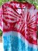 Blue Casual Shift Printed Cotton Shirts & Tops