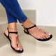 Flat Heel Casual Summer Sandals