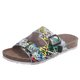 Casual Buckle Leatherette Slippers