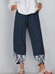 Printed Casual Pants