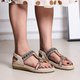 Spring Holiday Beading Sandals