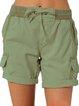 Cotton-Blend Casual Drawstring Shorts