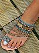 Holiday Summer Flat Heel Sandals