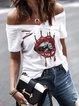 Short Sleeve Abstract Shift Shirts & Tops