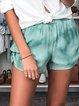 Plus Size Casual Cotton-Blend Casual Pants