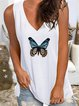 Cotton-Blend Shift Casual Shirts & Tops