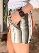 Multicolor Floral-Print Shift Casual Shirts & Tops