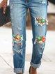 As Picture Vintage Denim Pants