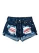 Dark_Blue Vintage Denim Pants