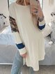 Plain Long Sleeve Shirts & Tops