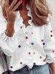 Vintage Cotton-Blend Shirts & Tops