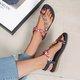 Leatherette Summer Sandals