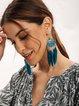 Blue Alloy Vintage Earrings