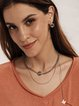 As Picture Alloy Elegant Necklaces