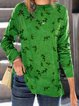 Green Casual Shirts & Tops