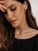 As Picture Alloy Plain Casual Fashion Necklaces