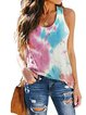 Plus Size Casual Cotton-Blend Shirts & Tops