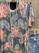 Gray Short Sleeve Casual Crew Neck Shirts & Tops