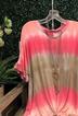 Cotton V Neck Short Sleeve Shirts & Tops