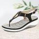 Leatherette Spring Sandals