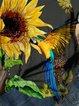 Bird Casual Floral-Print Shirts & Tops