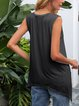 Black Printed Casual Shirts & Tops