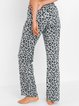 Leopard Casual Leopard Pants