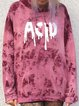 Front and back printed hooded sweatshirt