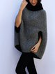 2020 thick stitch contrast loose blouse sweater