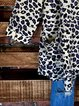 Leopard Casual Long Sleeve Shirts & Tops