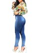 2020 European and American hot-selling jeans stretch slim fit buttocks fashion trousers women