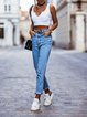 2020 autumn and winter casual slim trousers small feet pencil women's jeans