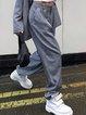 ins super fire wish women's casual commuter OL street loose suit pants trousers women